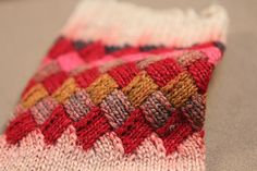 These are behind the scenes photos from the video shoot for Knitting Entrelac with Kathryn Alexander.