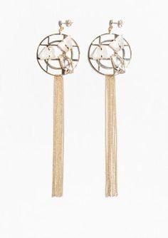 & Other Stories | Gemstone Dangling Earrings