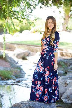 3brunettes Luxury Maxi Wrap Dress - 5 NEW PRINTS c7ed0b995b4