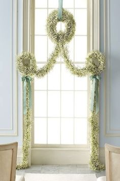 Lovely Christmas window decoration