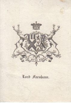 Lord Farnham crest