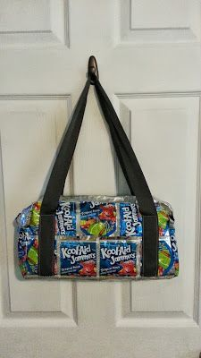 Juice Pouch Purse by sewbeeits