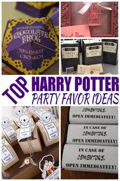 Harry Potter party favors! Find amazing Harry Potter party favors for boys and girls. Find goodie bag ideas, toys, candy and more. Cool ideas for birthday parties, classroom parties and more. Treat bags and favors all kids will love to take home. Find the best Harry Potter party favors now!