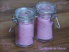 Sucre aromatisé menthe