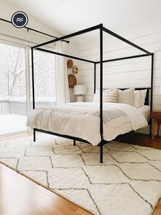 The luxury of a thicker texture meets the washability of a Ruggable rug. It can't get any better than that! Room Ideas Bedroom, Bedroom Inspo, Dream Bedroom, Master Bedroom, Bedroom Decor, Home Design Decor, Interior Design, Home Decor, Welcome To My House