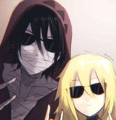 Hello they're here to kill you on your own floor Angel Of Death, Satsuriku No Tenshi, Cute Anime Pics, Anime Angel, Slayer Anime, Anime Artwork, Tag Art, Anime Style, Me Me Me Anime