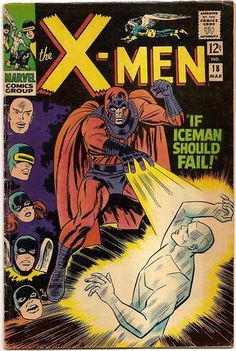 SILVER AGE 1966 The X-MEN #18 MARVEL MAGNETO APPEARANCE!!