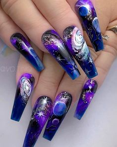 Want some ideas for wedding nail polish designs? This article is a collection of our favorite nail polish designs for your special day. Read for inspiration Best Nail Art Designs, Nail Polish Designs, Beautiful Nail Designs, Beautiful Nail Art, Acrylic Nail Designs, Nail Art Hacks, Nail Art Diy, Cool Nail Art, Diy Nails