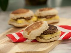 """Sausage and Egg """"JeffMuffins"""" from Food Networks The Kitchen. These came out really well actually! [oven at 425]"""