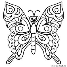 butterfly with flowers coloring pages butterfly coloring sheets on butterflies and insects coloring pages 37 - Spring Butterflies Coloring Pages