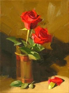 Forever Valentine, painting by artist Qiang Huang