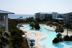 High Pointe is a condominium resort in Seacrest Beach. Accommodations are either gulf front or situated around the lagoon pool in a lush tropical setting with cascading waterfalls. This resort is definitely family friendly! ***3 Stars