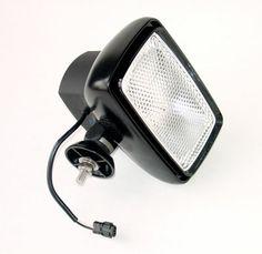 35 Watt HID Equipment Light - HID-A1870-W - 3200 Lumens - Black - 5X7 lens - Internal Ballast - Larson Electronics