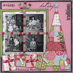 #papercraft #scrapbook #layout      **SCENIC ROUTE CONTEST**BRIGHTON - Two Peas in a Bucket