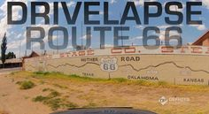 Drivelapse Route 66 Video - Timelapse From Chicago to LA in 3 Minutes on The Mother Road