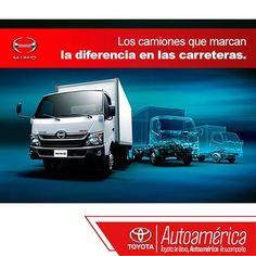 Explora nuestra gama completa de camiones #HinoDutro que pueden transportar desde 2 a 20 toneladas. Encuentra más información de nuestro portafolio en: www.autoamerica.com.co