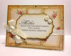 Happy Mothers Day by B-gin-R - Cards and Paper Crafts at Splitcoaststampers