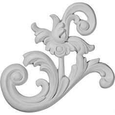 ONL08X07TS-R @ $11.11Our appliques and onlays are the perfect accent pieces to cabinetry, furniture, fireplace mantels, ceilings, and more.  Each pattern is carefully crafted after traditional and historical designs.  Each polyurethane piece is easily installed, just like wood pieces, with simple glues and finish nails.  Another benefit of polyurethane is it will not rot or crack, and is impervious to insect manifestations.  It comes to you factory primed and ready for your paint, faux…