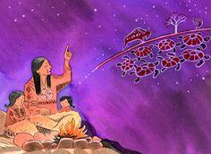 Praatplaat indianen, kleuters