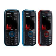 Brand New Nokia Xpress Music 5130 Unlocked Gsm Fm Mobile Phone Red & Blue Fm Mobile, Iphone 7, Apple Iphone, Android, Unlocked Phones, New Samsung Galaxy, The Old Days, Dual Sim, Red And Blue