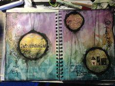 justintimedesign: Art journal