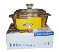Roxx Borosilicate Square casserole L Buy Kitchen, Kitchen Items, Kitchen Utensils, Kitchen Appliances, Microwave Rice Cooker, Kitchenware, Tableware, Storage Sets, Casserole