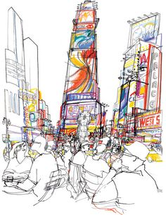 Veronica Lawlor, another wonderful reportage illustration