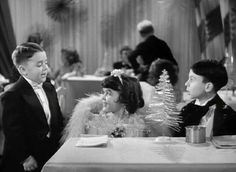 Little Rascals: Spanky, Darla, Alfalfa.  (Does this tell me I have Akzhimer?)