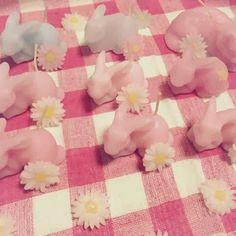 daydream candle (ウサギキャンドル)