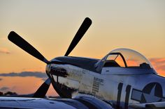 """""""C'mon, hop in."""" She seemed to say. Actually, I get that vibe from pretty much all P-51s. Photo by Brent Clark. Used with permission."""