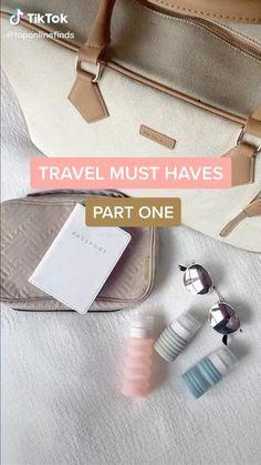 Amazing Life Hacks, Useful Life Hacks, Packing Tips For Travel, Travel Essentials, Best Amazon Buys, Best Amazon Gifts, Amazon Products, Objet Wtf, Everyday Hacks