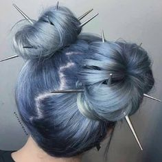 Hair Dye Colors, Cool Hair Color, Two Color Hair, Hair Inspo, Hair Inspiration, Character Inspiration, Dye My Hair, Aesthetic Hair, Aesthetic Style