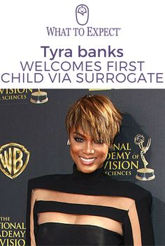 Lots of women go through the journey of infertility, and Tyra Banks just shared that she's one of them. After struggling with infertility for years, today the producer, model and TV host announced the arrival of her first child, via surrogate. #infertility #surrogacy #whattoexpect | whattoexpect.com