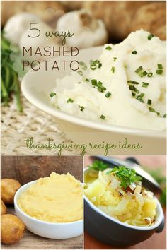 Thanksgiving Side Dish Ideas: 5 Mashed Potato Recipes