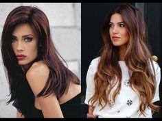 50 elegante Frisuren für braune Haare