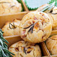 Recette Muffins aux lardons à la Vache qui rit (facile, rapide)