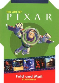 The Art Of Pixar Fold And Mail Stationery