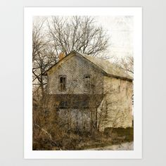 Abandoned House Art Print by Cassie Peters - $15.00