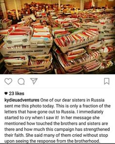 JW Love-Letters to Russia