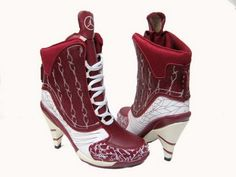 authentic Air Jordan 23 High Heels Red White and cheap Air Jordan Shoes Air Jordan Heels Jordan Boots, Jordan Heels, Cheap Jordan Shoes, Air Jordan Shoes, Nike Free Men, Nike Free Shoes, Nike Air Max 2011, Nike Air Max For Women, Women Nike