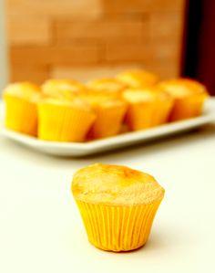 Bolinho brevidade com calda de laranja (sem glúten e sem lactose)