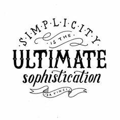 Keep it simple, stupid ;)