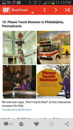 Please Touch Museum made Buzzfeed's list of 19 places to make your kids dream come true!