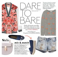 """""""Dare to bare"""" by punnky ❤ liked on Polyvore"""