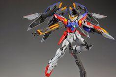 MG 1/100 Wing Gundam Proto Zero - Painted Build Modeled by skims