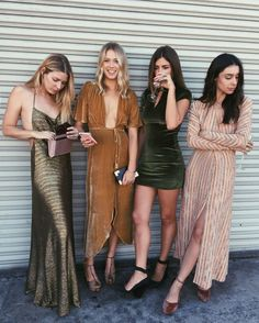 The perfect velvet and maxi dresses