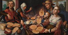 Artist Pieter Aertsen (circa 1508–1575)  TitleThe Pancake Bakery. Date1560