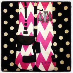 Custom Chevron Nike Elite Socks on Etsy, $35.00- I WOULD DIE OMG I AM OBSESSED PLEASE SOMEONE BUY THESE FOR ME