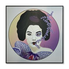 """Frida"" 2019 artist : Massimo Perna digital printing on aluminum sheet · 55 x 55 cm Bjork, Aluminium Sheet, Online Art Gallery, Metallica, Authenticity, Original Artwork, Digital Prints, Artworks, Contemporary Art"