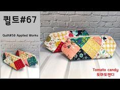 Pencil Bags, Zipper Bags, Diy Videos, Sewing Tutorials, Pouch, Candy, Shoulder Bag, Quilts, Handmade